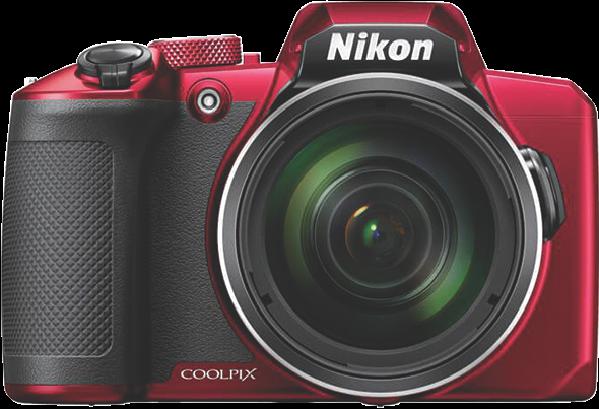Coolpix B600 Compact Digital Camera – Red VQA091AA