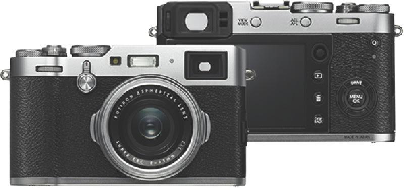 Fujifilm X100F Mirrorless Camera - Silver 74211