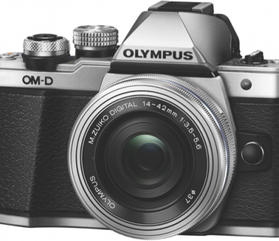 Olympus Mirrorless Camera OM-D E-M10 Mark II SLK (Silver)