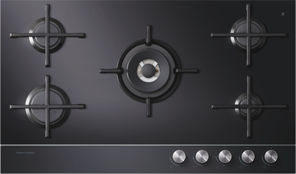 Fisher & Paykel 90cm Gas Cooktop CG905DNGGB1
