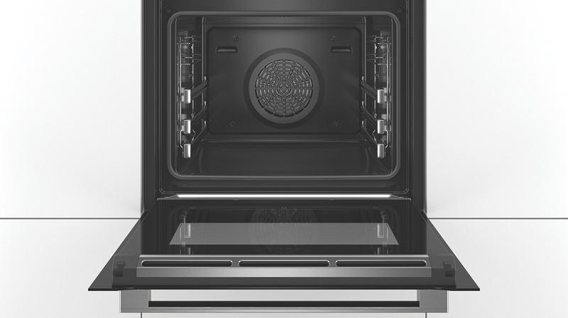 Bosch Built-in Pyrolytic Oven – Black HRG6769B2A