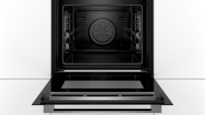 Bosch Built-in Pyrolytic Oven - Black HBG6753B1A