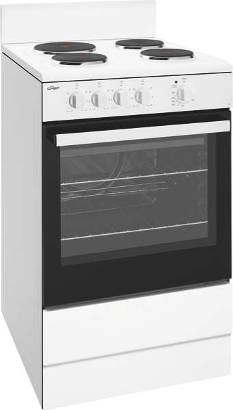 54cm Freestanding Electric Cooker - White CFE532WB