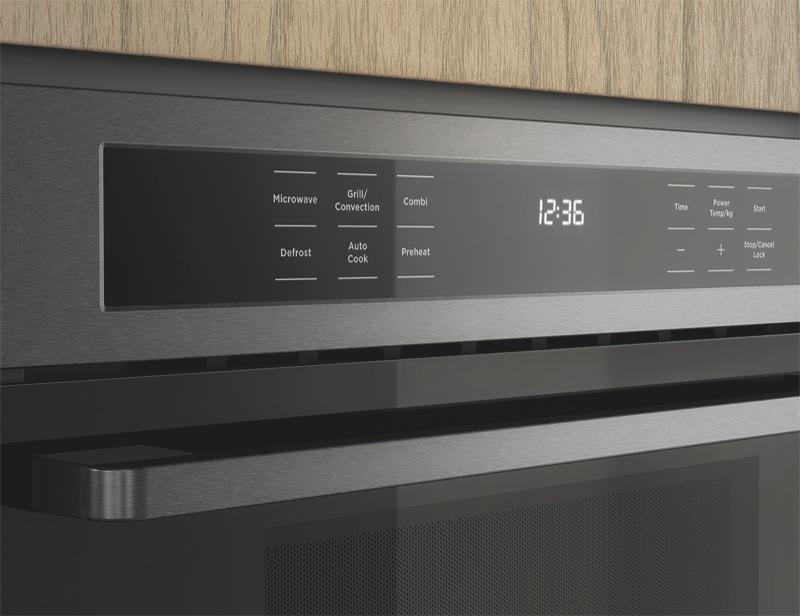 Westinghouse 44L 900W Built-In Combi Microwave - Dark Stainless Steel WMB4425DSC