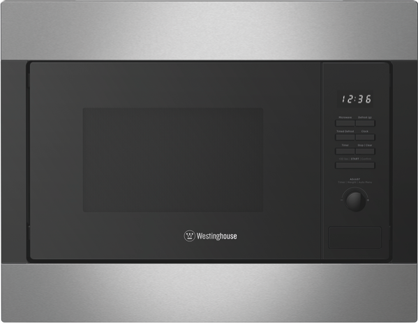 Westinghouse 25L 900W Built-In Microwave - Stainless Steel WMB2522SC
