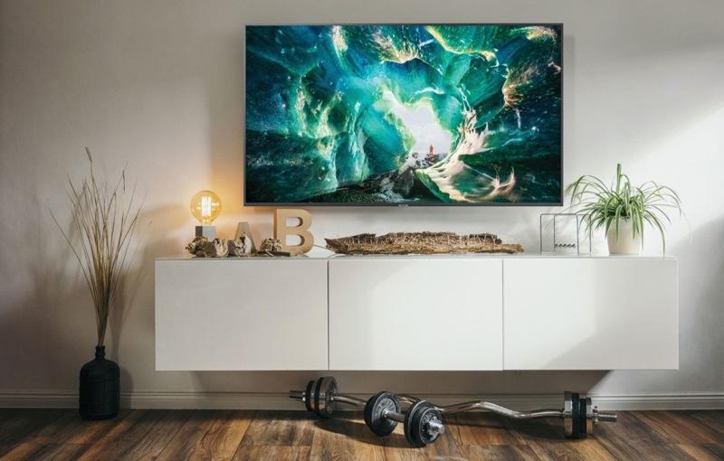Samsung 55″ 4K Ultra HD Smart LED LCD TV UA55RU8000WXXY