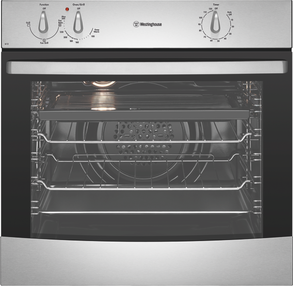 60cm Built-in Oven - Stainless Steel WVE613S