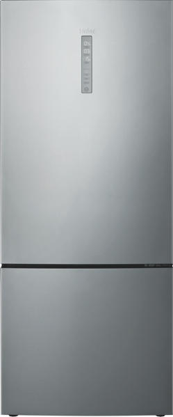 Haier 450L Bottom Mount Fridge – Silver HBM450SA1