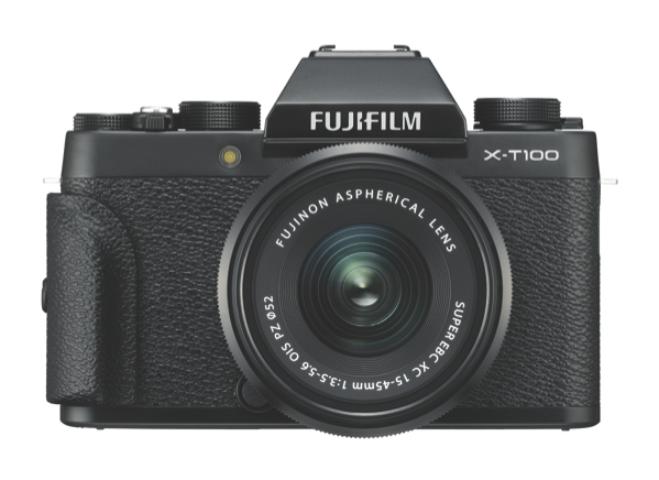 Fujifilm X-T100 Black w/XC15-45mm kit 74338