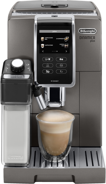 DeLonghi Dinamica Plus Fully Automatic Coffee Machine ECAM37095T
