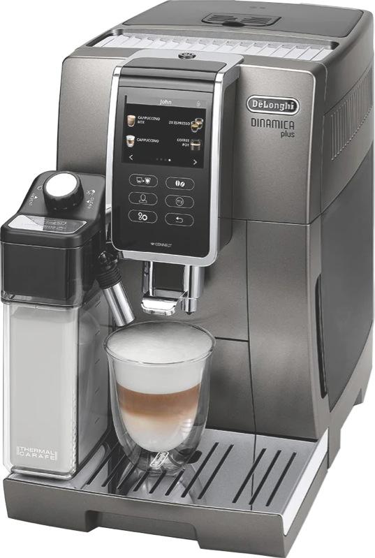 DeLonghi Dinamica Plus Fully Automatic Coffee Machine ECAM37095T