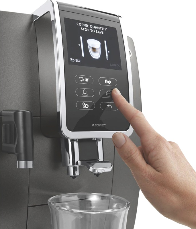 Delonghi Dinamica Plus Fully Automatic Coffee Machine ...