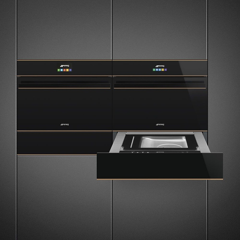 Smeg 15cm Warming Drawer CPR615NR