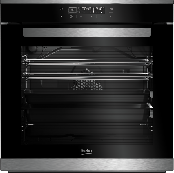 Beko 94L Built-in Side Venting Oven BBO60B2MB
