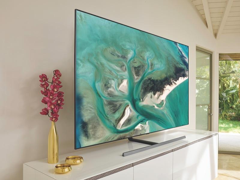 Samsung 75″ 4K Ultra HD Smart QLED TV QA75Q80RAWXXY