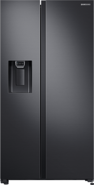 Samsung 676L Side By Side Fridge - Matte Black SRS673DMB