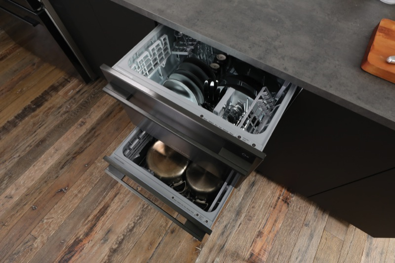 Fisher & Paykel Double DishDrawer™ - Black Stainless Steel DD60DDFB9