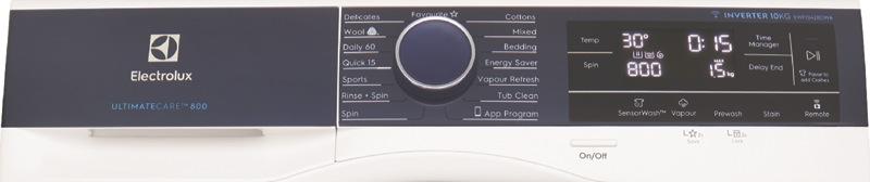 Electrolux 10kg Front Load Washing Machine EWF1042BDWA