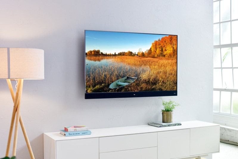 TCL 55″ Ultra HD Smart QLED TV with Artificial Intelligence 55X7