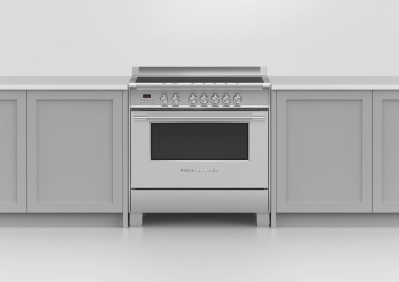 Fisher & Paykel 90 cm Freestanding Electric Cooker - Stainless Steel OR90SCI4X1