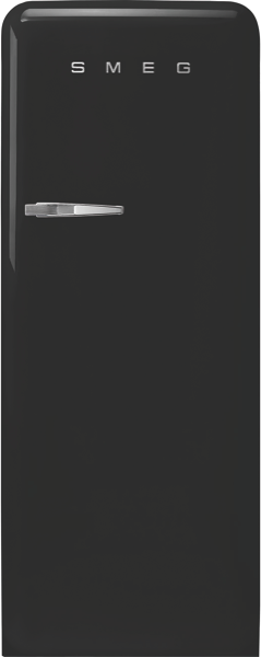 Smeg 270L Freestanding Fridge - Black FAB28RBL3AU