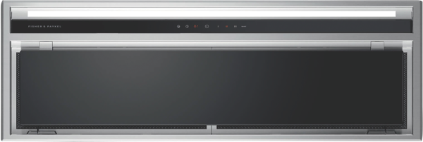 Fisher & Paykel 90cm Integrated Rangehood - Stainless Steel & Glass HP90IDCHX3