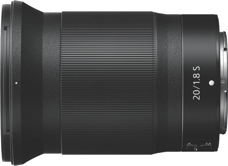 Nikon NIKKOR Z 20mm f/1.8 S Camera Lens JMA104DA