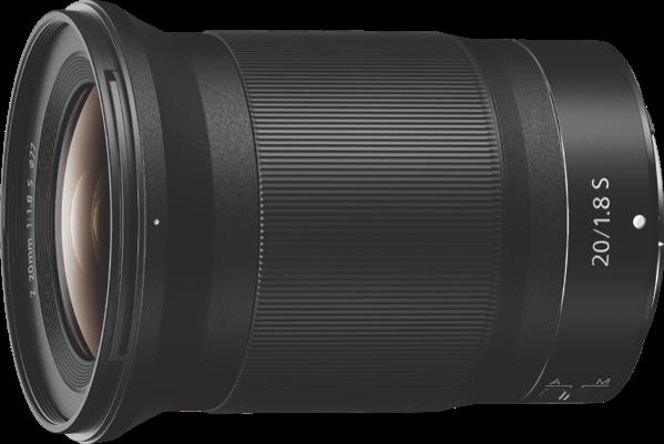 Nikon NIKKOR Z 20MM F/1.8 S JMA104DA