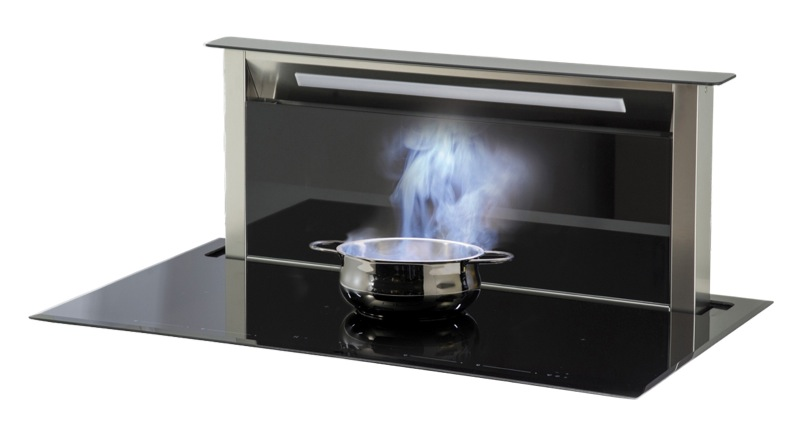 Sirius 4 Zone Induction Cooktop & Downdraft Rangehood SDDH11PSEM8