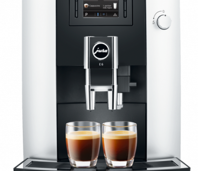 Jura E6 Plat Auto Coffee Machine 15079