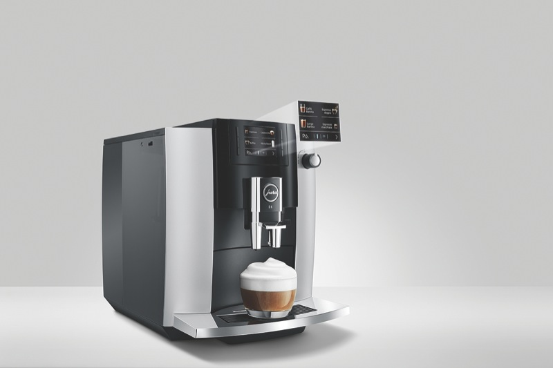Jura E6 Fully Automatic Coffee Machine – Platinum 15342