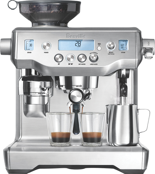 Breville The Oracle Pump Espresso Coffee Machine -  Brushed Stainless Steel BES980BSS