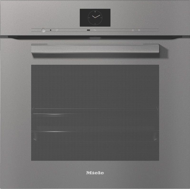 Miele 60cm Built-in Pyrolytic Oven - Grey H7860BP VitroLine Graphite Grey