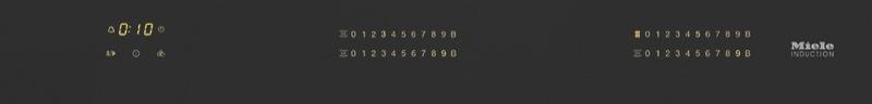 Miele 80cm Induction Cooktop - Black KM7574FL
