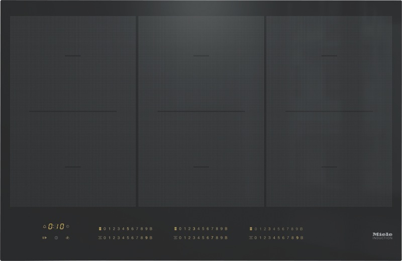 Miele 80cm Induction Cooktop - Black KM7678FL