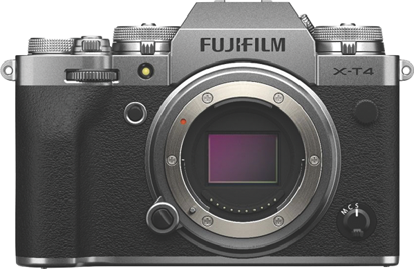 Fujifilm X-T4 Mirrorless Camera (Body Only) - Silver 74398