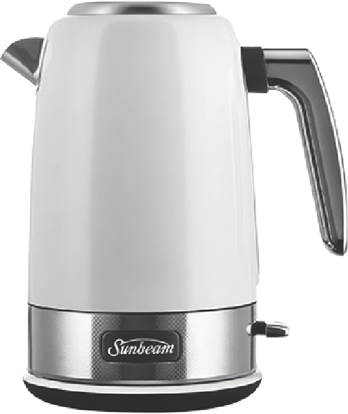 Sunbeam Jug Kettle New York - White Silver KE4430WS