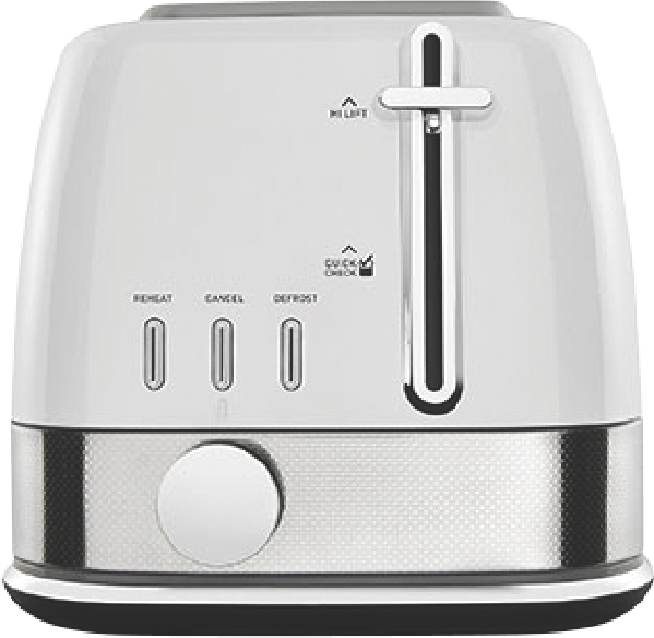 Sunbeam 2Sl Toaster New York - White Silver TA4420WS