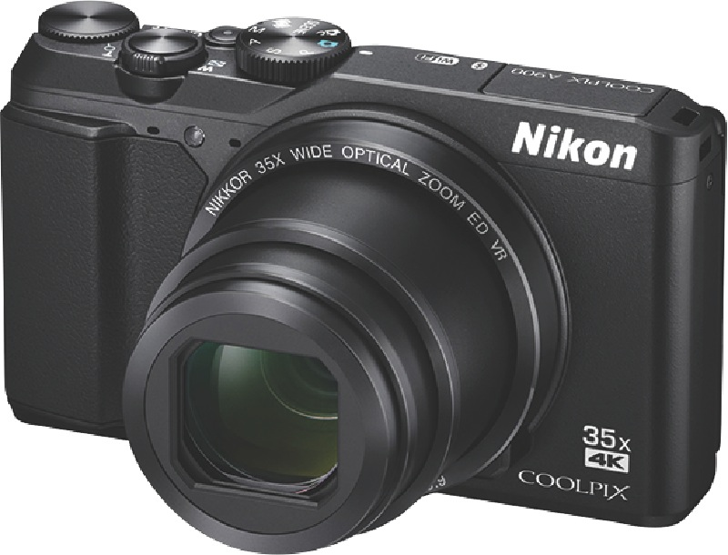 Nikon Digital Compact Camera COOLPIXA900Black