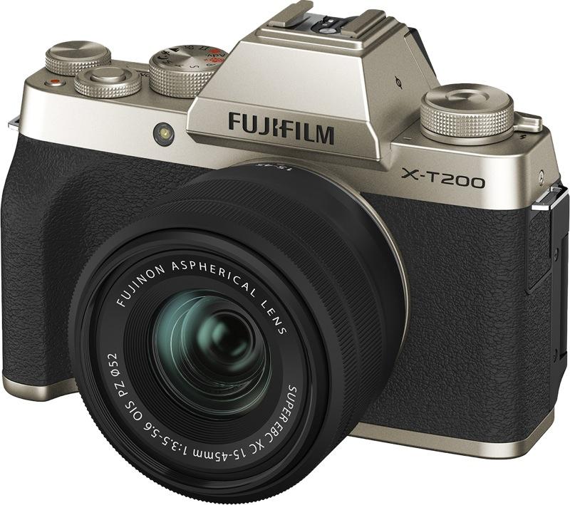Fujifilm X-T200 Mirrorless Digital Camera with XC 15-45mm Lens 74383