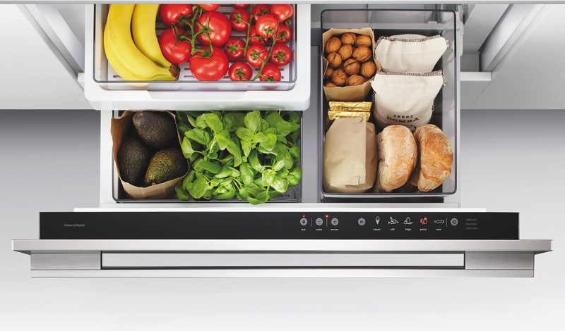 Fisher & Paykel CoolDrawer™ Multi-temperature Drawer RB90S64MKIW1