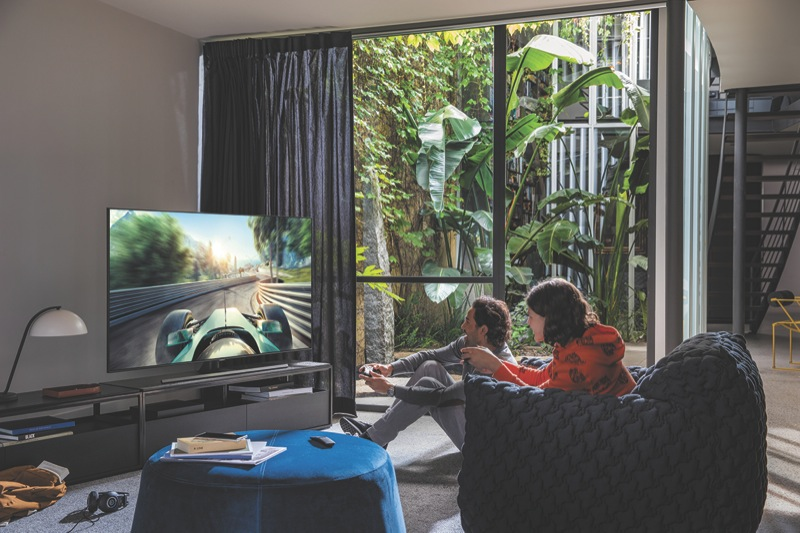 """Samsung 75"""" Q70T 4K Ultra HD Smart QLED TV QA75Q70TAWXXY"""
