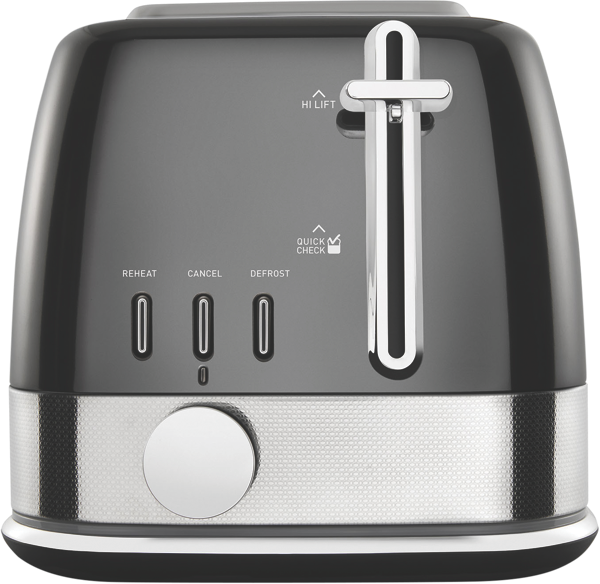Sunbeam 2Sl Toaster New York - Grey Reflective TA4420GR