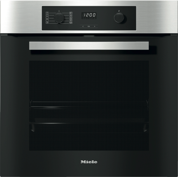 Miele 60cm Built-In Pyrolytic Oven - Clean Steel H22671BPCS