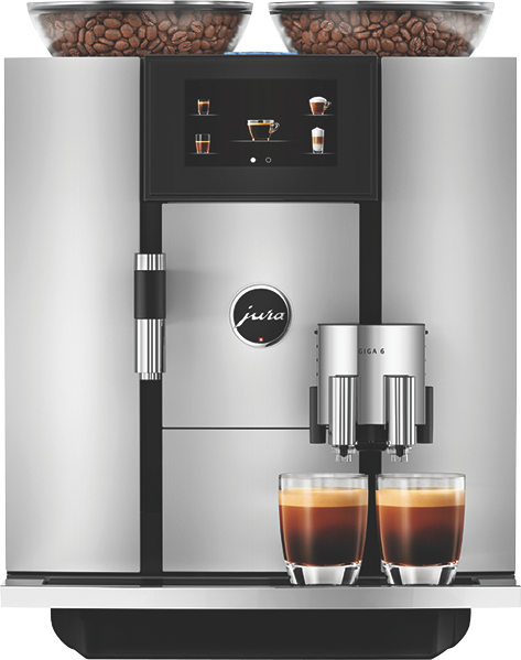 Jura GIGA 6 Fully Automatic Coffee Machine - Aluminum 15357