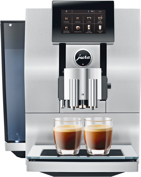 Jura Z8 Alu Auto Coffee Machine 15147