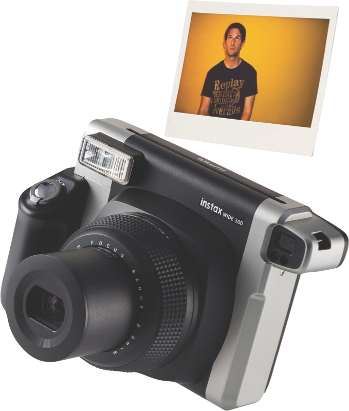 Fujifilm Instax Wide 300 Instant Camera - Black 84615