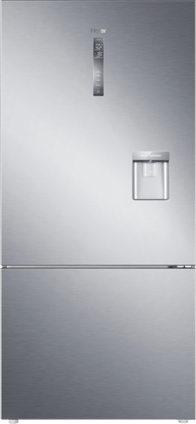 Haier 514L Bottom Mount Fridge with Water Dispenser HRF520BHS