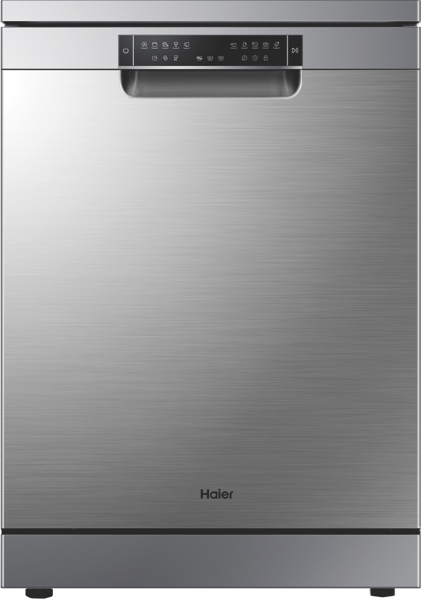 Haier 60cm Freestanding Dishwasher – Stainless Steel HDW15V3S1