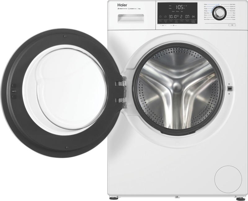 12kg Front Load Washing Machine - White HWF12D1W1